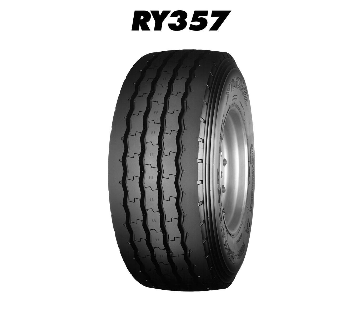 YOKOHAMA-38555-R-225-RY357-Tehergepkocsi-potkocsi-RY357-gumi