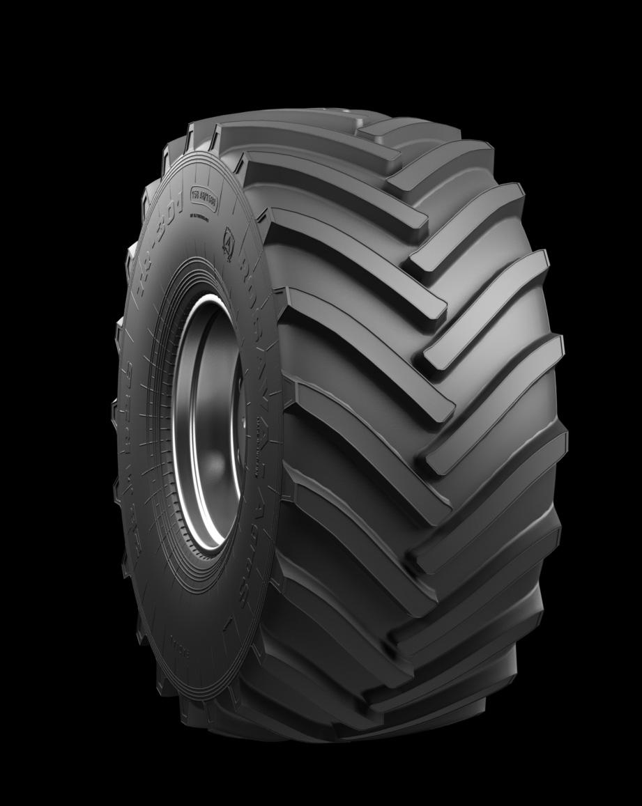 ROSAVA 28,1 R26 158A8 TR-301 SET (A+T)  gumi